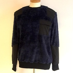 Boa Fleece Pullover Navy
