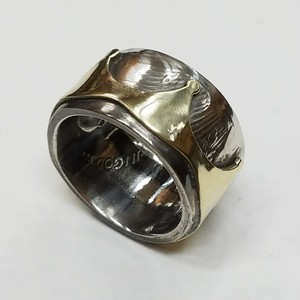PIECE DOLLAR CROWN RING