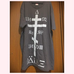 【DALLE】big tee / 1st <charcoal grey・XXL>