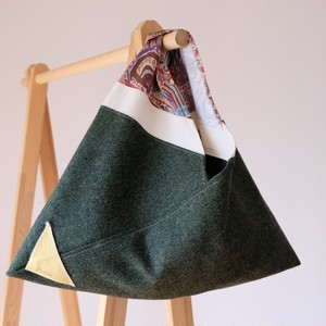 AppliQué 40(あずま袋) ウール深緑