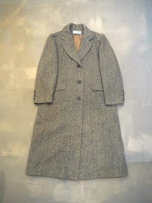 J.G.HOOK Herringbone Chester Field Coat / Made in U.S.A [O-406]