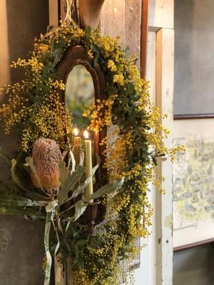 Miroir à Mimosa
