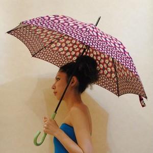 56サイズ【オリジナル商品】ポップでカラフルなお花◆日傘