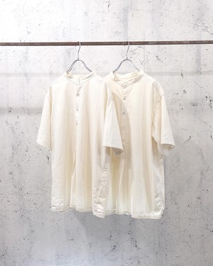 Bulgaria granpa s/s shirt (white)