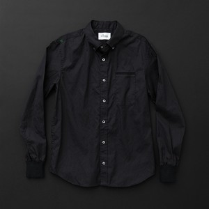 メンズ スタンダード 黒×黒+P