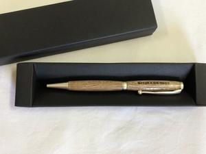 木製ボールペン(シルバー)*メモリアル品*