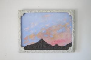 石膏の山の絵2