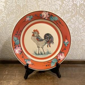 ハンガリー   オリエンタルな鶏の飾り皿