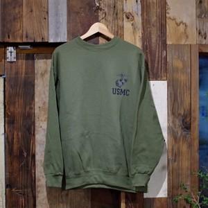 USMC Training Sweat Shirt / アメリカ海兵隊 スウェット シャツ NEW