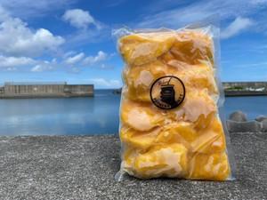 業者さん絶賛!冷凍カットマンゴー(宮古島)1kg入荷しました!ジュースやデザートにも!
