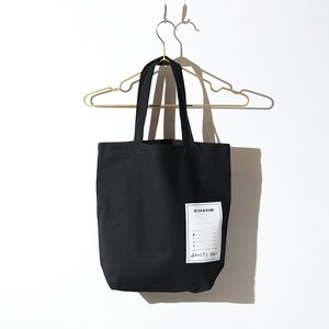 TAG TOTE BAG(BLACK)