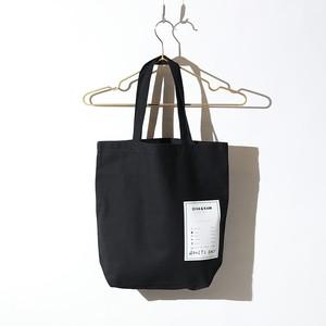TAG TOTE BAG(BLACK)