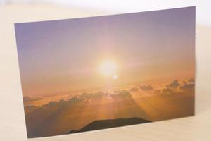 マウナ・ケア山から夏至のエネルギーを Photo Card