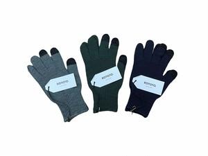 【ROTOTO】Touch Screen Merino Glove