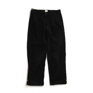 CORDUROY 2TAC PANTS(BLACK)
