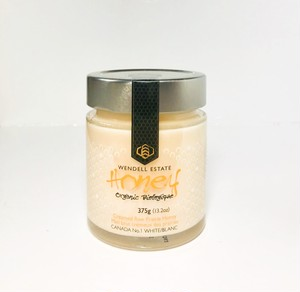 Organic Wendell Estate Honey 375g カナダ産