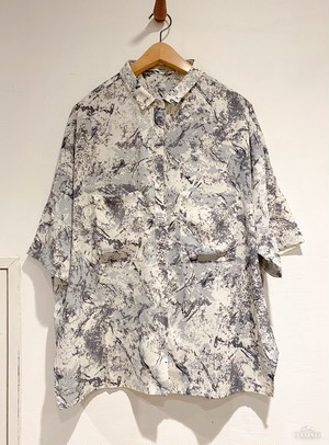 Unisex's /  polyester SHIRT of over silhouette