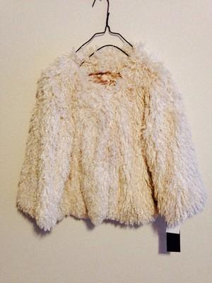 SALE モコモコシャギーニットのジャケット