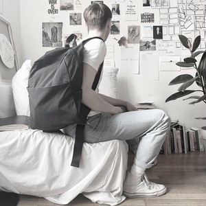 184ABG01 Fabric backpack 'tofu' バックパック/リュック