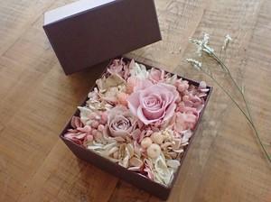 Flower Box Brown ✳︎pink✳︎