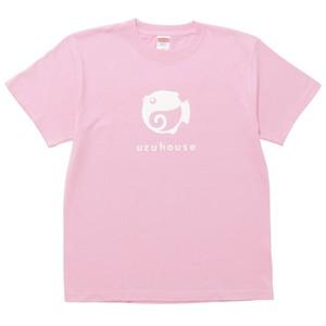 ウズハウスTシャツ / ピンク