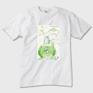 ケーキマジック メンズTシャツ 白