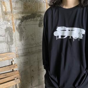 BLACK SCORE【ブラックスコア 】DI CROSS LS Tシャツ(BLACK).