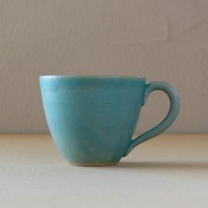 青釉マグカップ