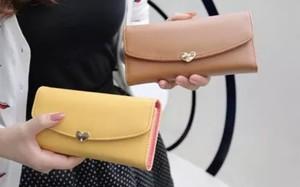 レディースファッション かわいい ハート 小物 財布 カードケース 小銭いれ おしゃれ カジュアル シンプル 長財布★02906