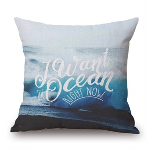 Cushion cover / Ocean