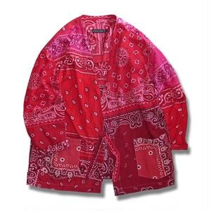 WCH Remake Bandana Short Gown -Red Mix