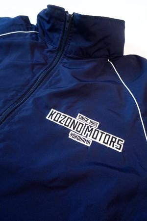 KOZONO MOTORS 刺繍ロゴ入り ブルゾン(フード付き)