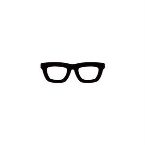 眼鏡 カラー:黒・白 サイズ:H33×W100mm
