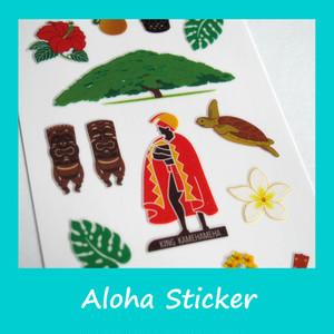 アロハ ハワイ ステッカー