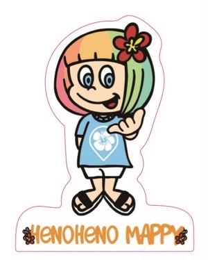 【耐久性・耐水性ステッカー】HENOHENO MAPPY Official LOGO