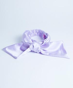 Satin Headband Lavender