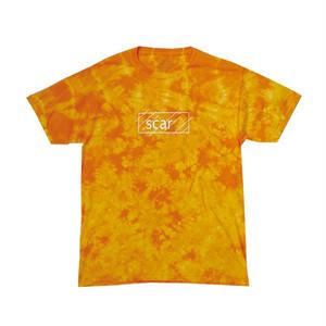 scar /////// OG CRYSTAL TIE DYE TEE (Gold)