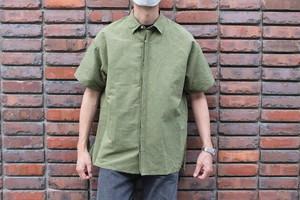 SANDINISTA / Linen Fly-Front S/S Shirt