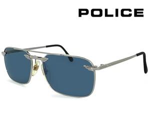 ポリス ヴィンテージ サングラス 2147-5579 police レトロ 訳あり メンズ Sサイズ スクエア ツーブリッジ UVカット