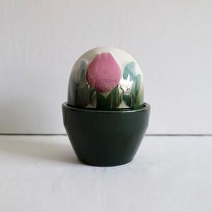 Arabia アラビア / Ikikukka Flower Box 蓋付きポット / チューリップ
