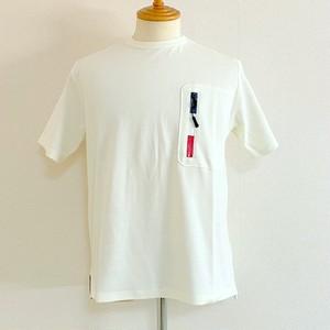 Toricolor-Zip Pocket T-shirts Off White