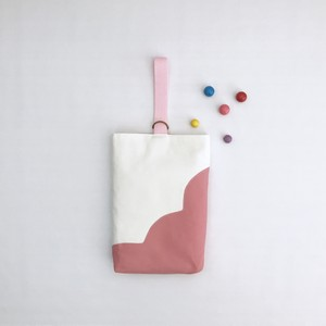 【上履き入れ】スカラップシリーズ・ピンク☆ 入園入学アイテム
