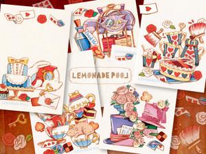 アリスなお茶会ポストカード★5枚セット