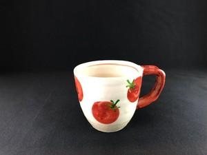 赤絵 トマト マグカップ