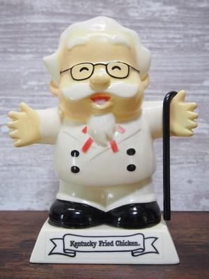 【1991's】KFC カーネル・サンダースソフビ貯金箱
