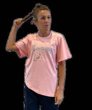 【SKANDHAL】LIPARI アシンメトリーTシャツ【ピンク】【新作】イタリアンウェア《W》