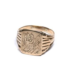 Vintage Ostby Barton 10k Gold Ring