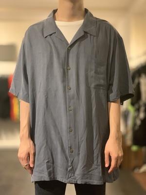 【¥5000-均一】 Silk open collar shirt
