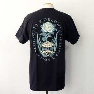 【OBEY】 DESTRUCTION & REBIRTH (BLACK)
