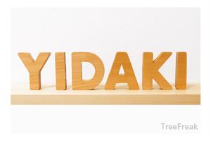 YIDAKI イダキの切り文字(R) インテリア(イダキ ディジュリドゥ)